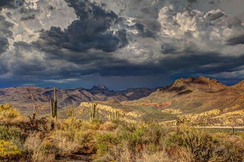 El calentamiento global expande los desiertos