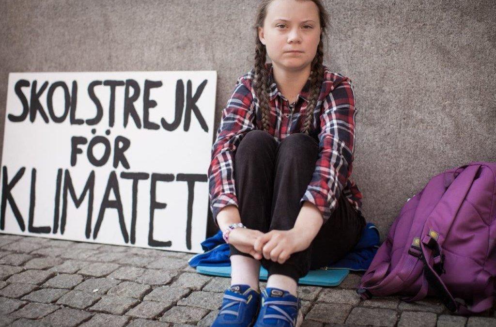 Cambiemos el mundo, el nuevo libro de Greta Thunberg