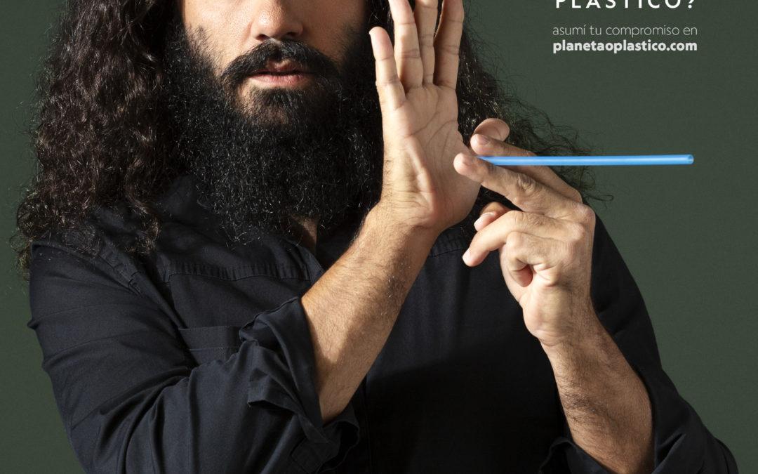 """Juan Pablo Sorín protagoniza la campaña """"¿Planeta o Plástico?"""""""