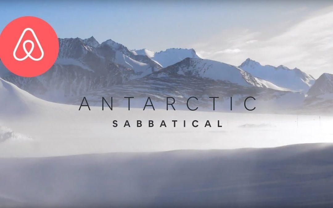 Airbnb busca cinco voluntarios para vivir en la Antártida
